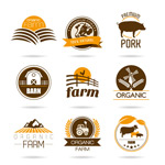 Agricultural product logo vector