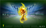 World Cup poster vector
