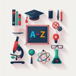 Education element icon vector
