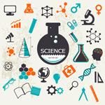 Vintage science vector