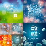 Magic background notes vector