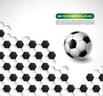 Soccer backgrounds-vector