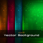 Halo color background vector