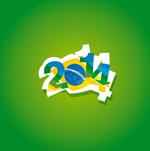 World Cup WordArt vector