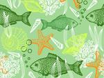Ocean animals vector