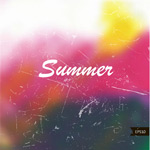 Watercolor summer backgrounds. vector