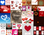 Creative Valentine's day love vector