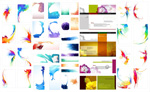 Splash effects and patterns vector