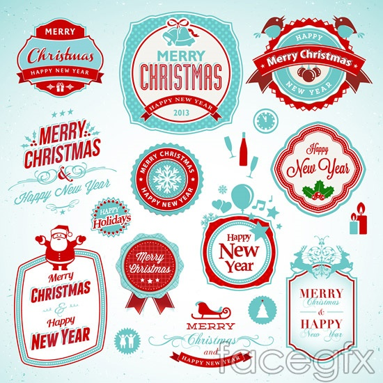 The Merry Christmas tag vector will download as a .psd file. You will ...