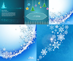 Cool Christmas background vector