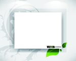 Elegant pattern blank cards vector
