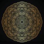 Oblong creative patterns vector