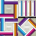 Color digital text vector