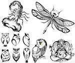 Tattoo tattoo 5 vector