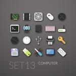 E-Tools icon vector