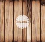 Wood grain background design vector