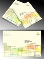 Company album cover vector
