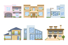9 exquisite architectural design vector