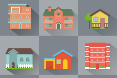 9 creative home design vector