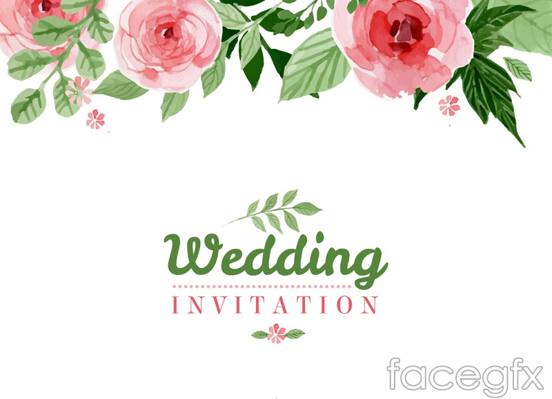Wedding Invitation Electronic for awesome invitation template
