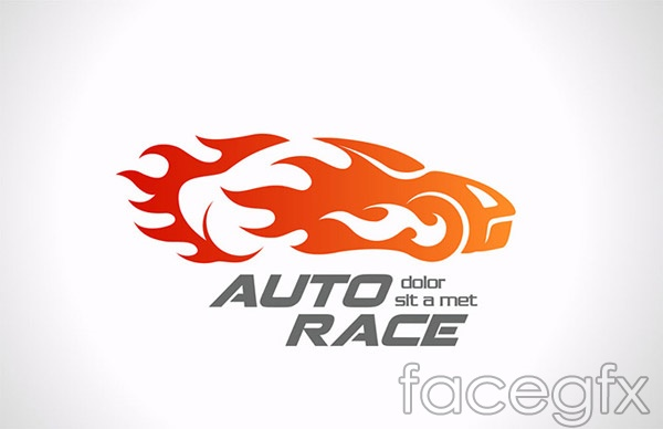 Car Branding Vector Racing Sports Car Brand Vector
