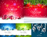 Dudley branch and gift boxes vector