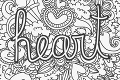 Black love creative doodles vector