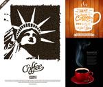 Coffee theme ideas vector