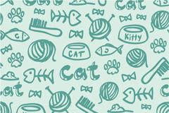 Green kid stuff background vector