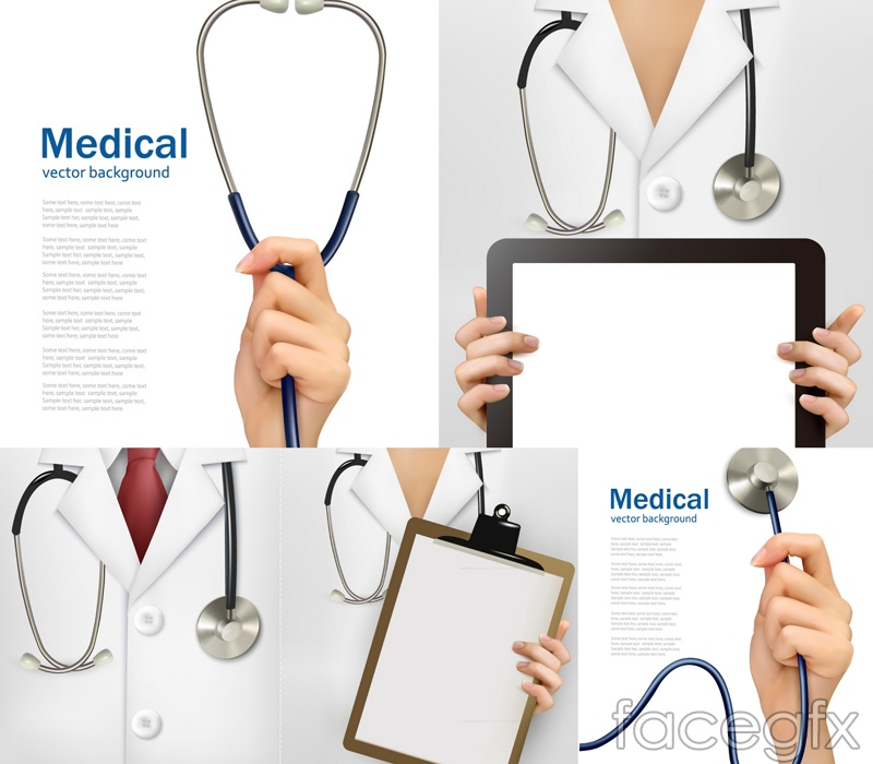 Creative Medical Poster Vector Free Download