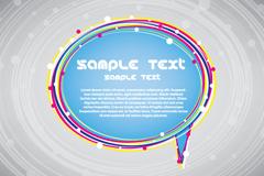 Color line dialog box, vector