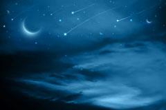 The dark blue sky background vector
