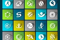 25 creative sport logo vector