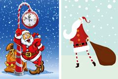 Cartoon Santa Claus design vector