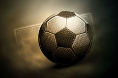Creative textured football background vector