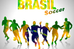 M-Brazil World Cup poster vector