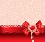 Valentine bows vector