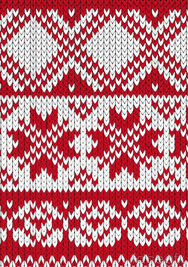 Crimson knit pattern background vector Free download