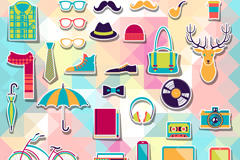 Walt supplies clip art vector