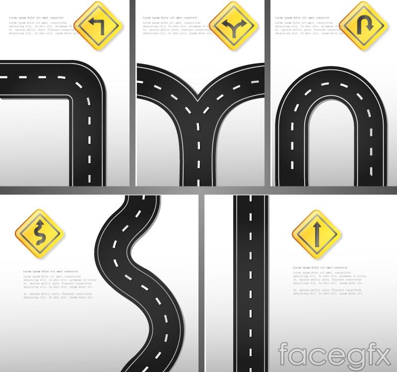 Road Logo Design 5 Road Logo Design Vector