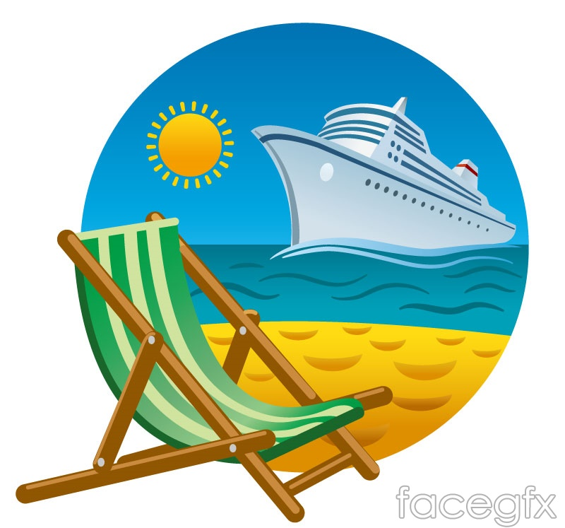 free clip art cartoon cruise ship - photo #13