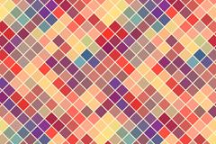 Color Diamond mosaic background vector
