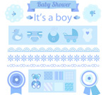 Baby elements design vector
