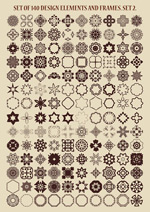 Circular pattern book vector
