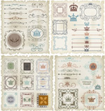 Beautiful pattern design vector