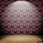 Background wallpaper a room vector