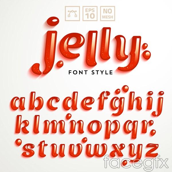 Jello Logo Vector Creative Jello Letter Vector