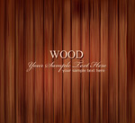 Wooden stripes background vector