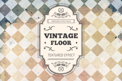 Vintage diamond lattice vector background