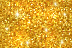 Gold glitter seamless vector background illustration